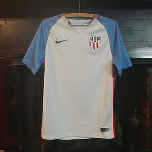 USA Soccer Jersey   Authentic Nike   2016-2017